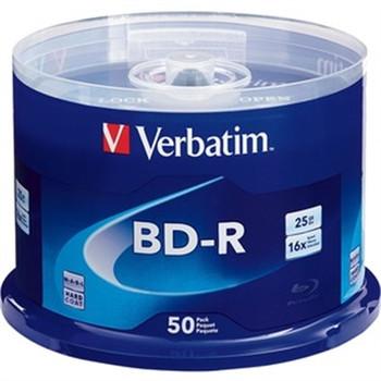 Bd-r 25gb 6x Branded 50p Spind