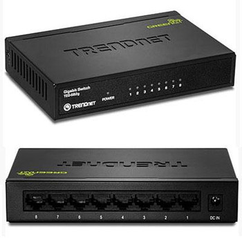 GREENnet 8 Port Gigabit Switch