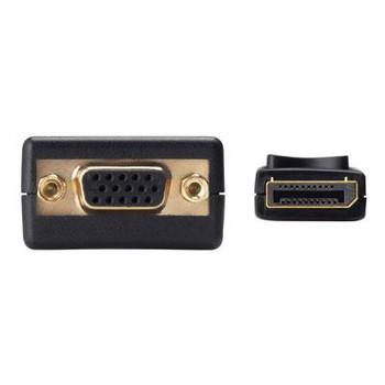 Displayport M VGA F Black