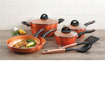 10pc induction Copper cookware