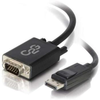 3' DP M to VGA M Black