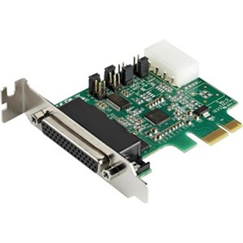 4 Port PCIe RS232 Serial Card