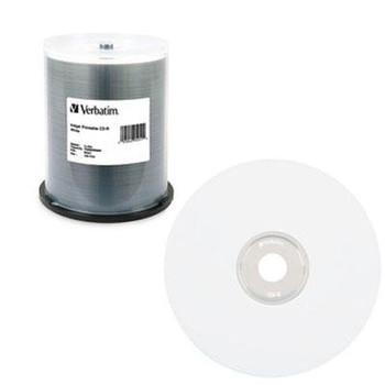 CD-R 80MIN 700MB 52X White Ink - VER95251