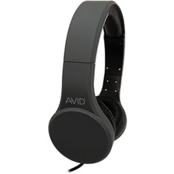 Stereo Hdst w Inline Mic Gray