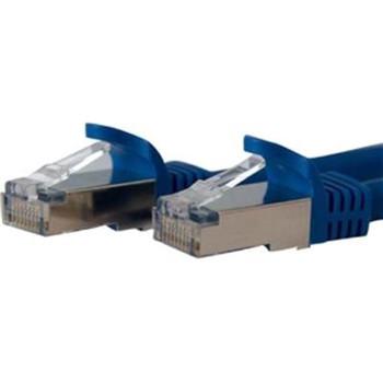 10' Blue Cat6a Patch Cable
