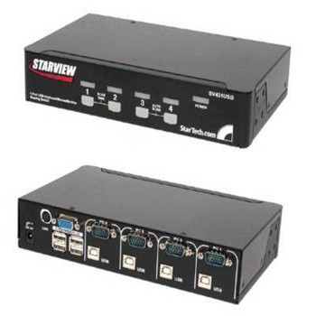4 Port VGA USB KVM Switch
