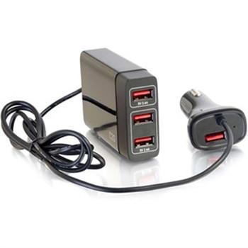 4 Port USB Passenger Car Chrg