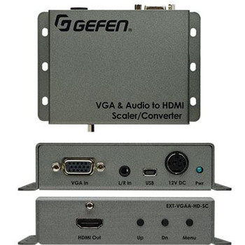 VGA Audio to HD Scaler Convert
