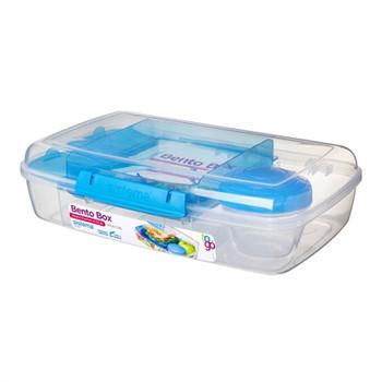 S Bento Box Assrtd Colors 4pc