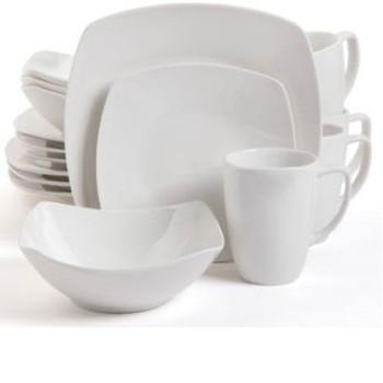 Zen Buffetware DW 16pc White