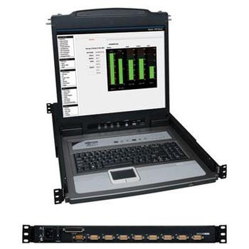 """8 Port KVM Switch 19"""" LCD - B020U0819K"""