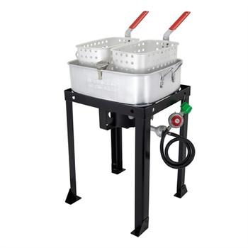 Chard 18qt Dual Basket Fryer