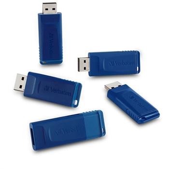 16GB 5 pk USB Flash Drive Blue