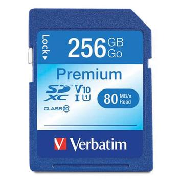 256GB Premium SDXC Memory Card