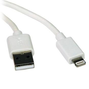 3ft Lightning to USB White