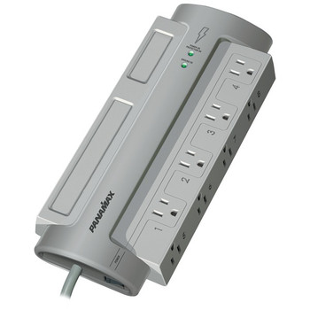 8-Outlet PowerMax(R) PM8-EX Surge Protector (without Satellite & CATV Protection)