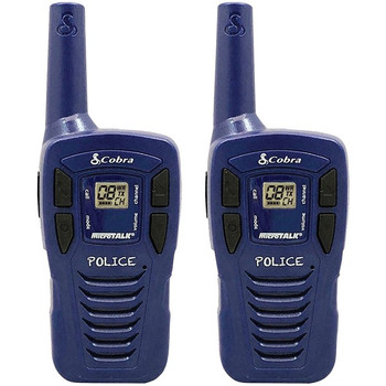 HE146 16-Mile 22-Channel FRS/GMRS 2-Way Radios (Blue)