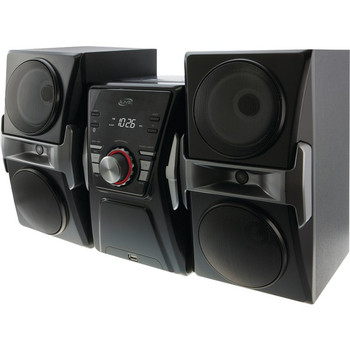 Bluetooth(R) Home Music System with FM Tuner & LED Lights