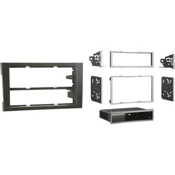 Single- or Double-DIN Installation Kit for 2002 through 2008 Audi(R) A4 and S4