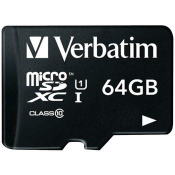 64GB Class 10 microSDXC(TM) Card with Adapter