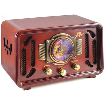 Retro-Style Bluetooth(R) Radio Speaker System