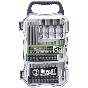26-Piece Impact Driver Accessory Set