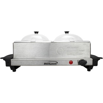 3-Quart 2-Pan Buffet Server and Warming Tray