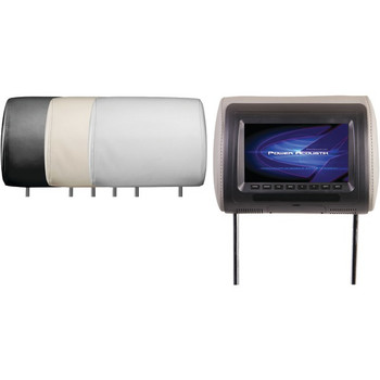 "Universal Headrest Monitor with IR Transmitter & 3 Interchangeable Skins (7"")"