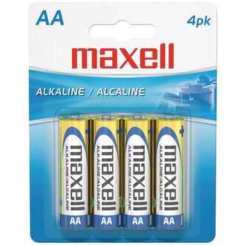 Alkaline Batteries (AA; 4 pk; Carded)