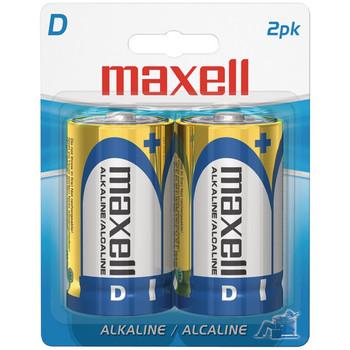 Alkaline Batteries (D; 2 pk; Carded)