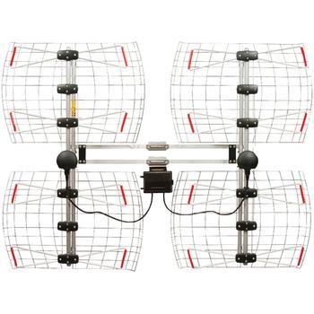 Enhanced DB8e Multidirectional Bowtie Attic/Outdoor UHF Antenna