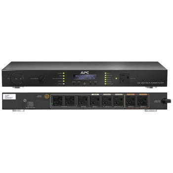9-Outlet G-Type 20-Amp Rack-Mountable Energy-Saving Power Conditioner