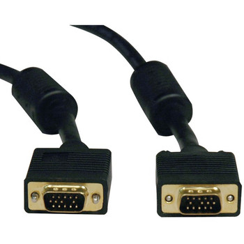 SVGA High-Resolution Coaxial Monitor Cable with RGB Coaxial (10ft)