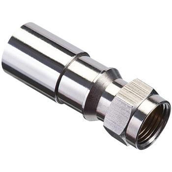 RG6 F-Compression Connectors (RTQ(TM); 50 pk)
