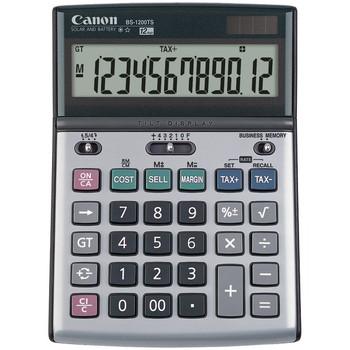 B-1200TS 12-Digit Portable Display Calculator