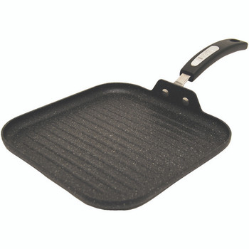 """THE ROCK(TM) by Starfrit(R) 10"""" Grill Pan with Bakelite(R) Handles"""