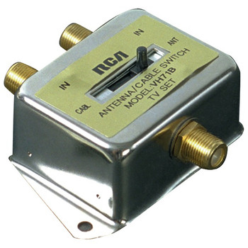 2-Way A/B Coaxial Cable Slide Switch