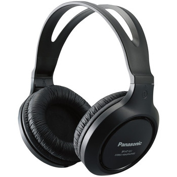 Full-Size Over-Ear Wired Long-Cord Headphones