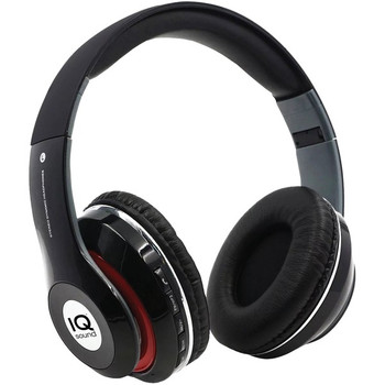 Bluetooth(R) Over-Ear Headphones with Microphone (Black)