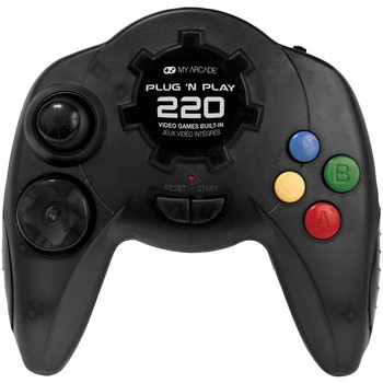 Plug 'N Play Controller with 220 Games