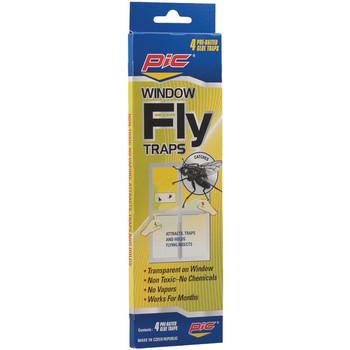 Window Fly Traps, 4 pk