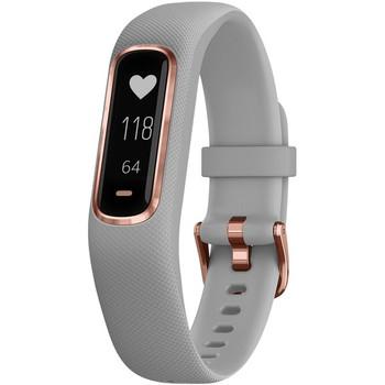 vivosmart(R) 4 Activity Tracker (Gray with Rose Gold Hardware, Small/Medium Wrists)