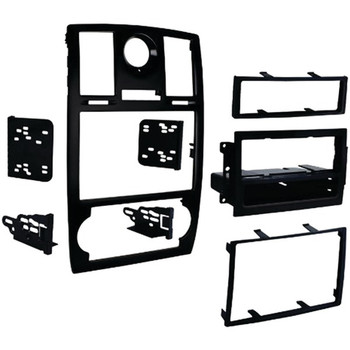 Double-DIN/ISO-DIN with Pocket Installation Kit with OE Bezel for 2005 through 2007 Chrysler(R) 300/300C