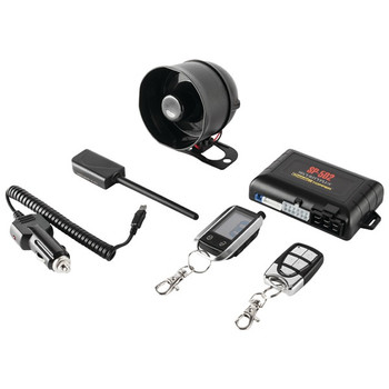Universal Deluxe 2-Way LCD Security & Remote-Start Combo