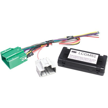 Radio Replacement Interface for Select Nonamplified GM(R) Vehicles (29-Bit, 20 & 16 Pin)