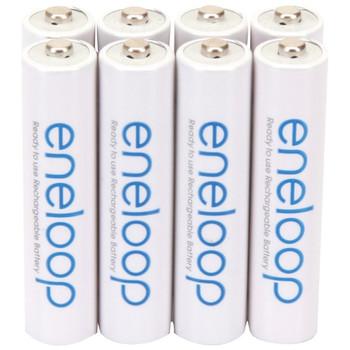 eneloop(R) Rechargeable Batteries (AAA; 8 pk)