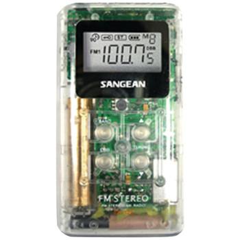 Pocket AM/FM Digital Radio (Clear)