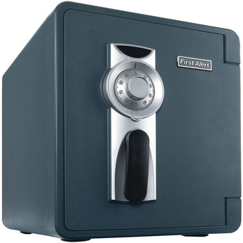 .94 Cubic-ft Waterproof and Fire-Resistant Bolt-Down Combination Safe