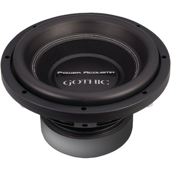 """Gothic Series 2ohm Dual Voice-Coil Subwoofer (10"""", 2,200 Watts)"""