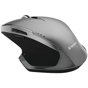 Wireless 8-Button Deluxe Blue LED Mouse (Graphite)